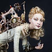 Портретная кукла ручной работы. Ярмарка Мастеров - ручная работа Возвращение с блошиного рынка, кукла. Handmade.