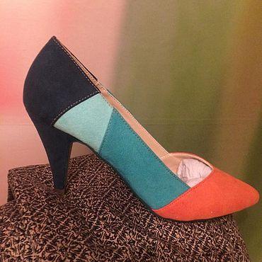 Обувь ручной работы. Ярмарка Мастеров - ручная работа Туфли: Обувь: Туфли: текстиль. Handmade.