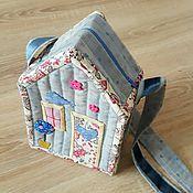 Работы для детей, ручной работы. Ярмарка Мастеров - ручная работа Сумочка-домик. Handmade.