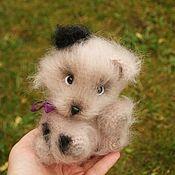 Куклы и игрушки handmade. Livemaster - original item Soft toy Teddy Puppy. Handmade.