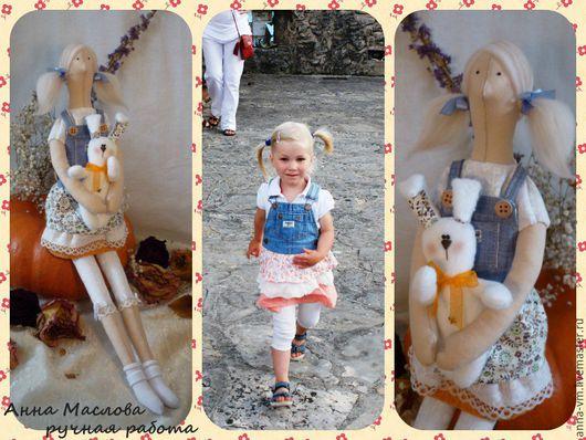 Куклы Тильды ручной работы. Ярмарка Мастеров - ручная работа. Купить Портретные куклы в стиле Тильда ручной работы. Handmade.