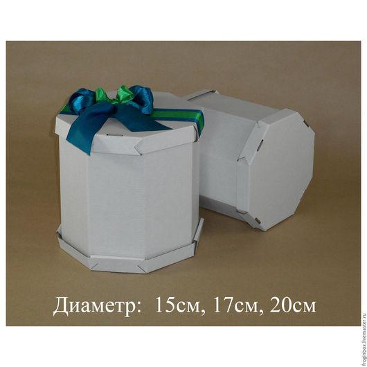 Восьмигранные картонные коробки