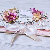 """Открытка-конверт для денежного подарка """"Весна"""""""