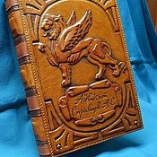 "Канцелярские товары handmade. Livemaster - original item Notebook ""LAWYER"". Handmade."