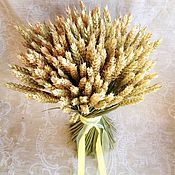 Цветы и флористика ручной работы. Ярмарка Мастеров - ручная работа Букет пшеницы. Handmade.