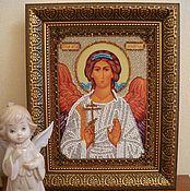 """Картины и панно ручной работы. Ярмарка Мастеров - ручная работа Икона """"Ангел-хранитель"""". Handmade."""