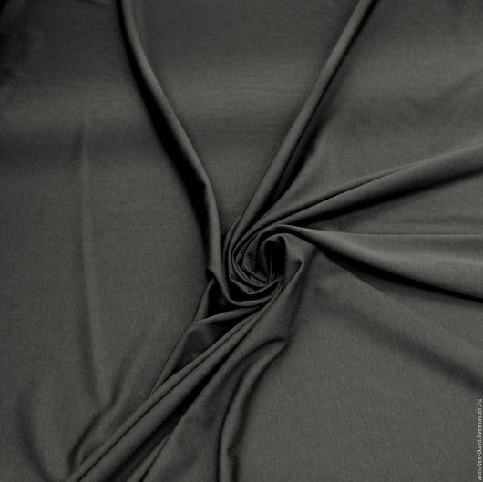 Трикотажное полотно - цвет черный