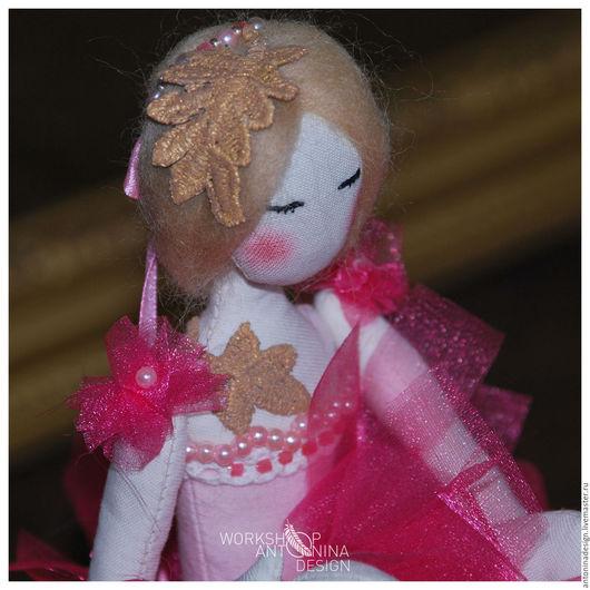 Коллекционные куклы ручной работы. Ярмарка Мастеров - ручная работа. Купить Балерина. Handmade. Розовый, для дома и интерьера, танец