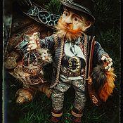 Куклы и пупсы ручной работы. Ярмарка Мастеров - ручная работа Авторская кукла ОХОТНИК Очуметь! А где медведь?, кукла ручной работы. Handmade.