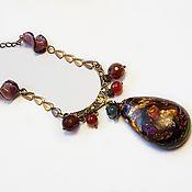 Украшения handmade. Livemaster - original item Harlequin mini necklace. Handmade.