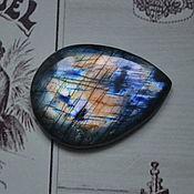 Кабошоны ручной работы. Ярмарка Мастеров - ручная работа Лабрадорит. Кабошон 43 Х 32 Х 7. Handmade.