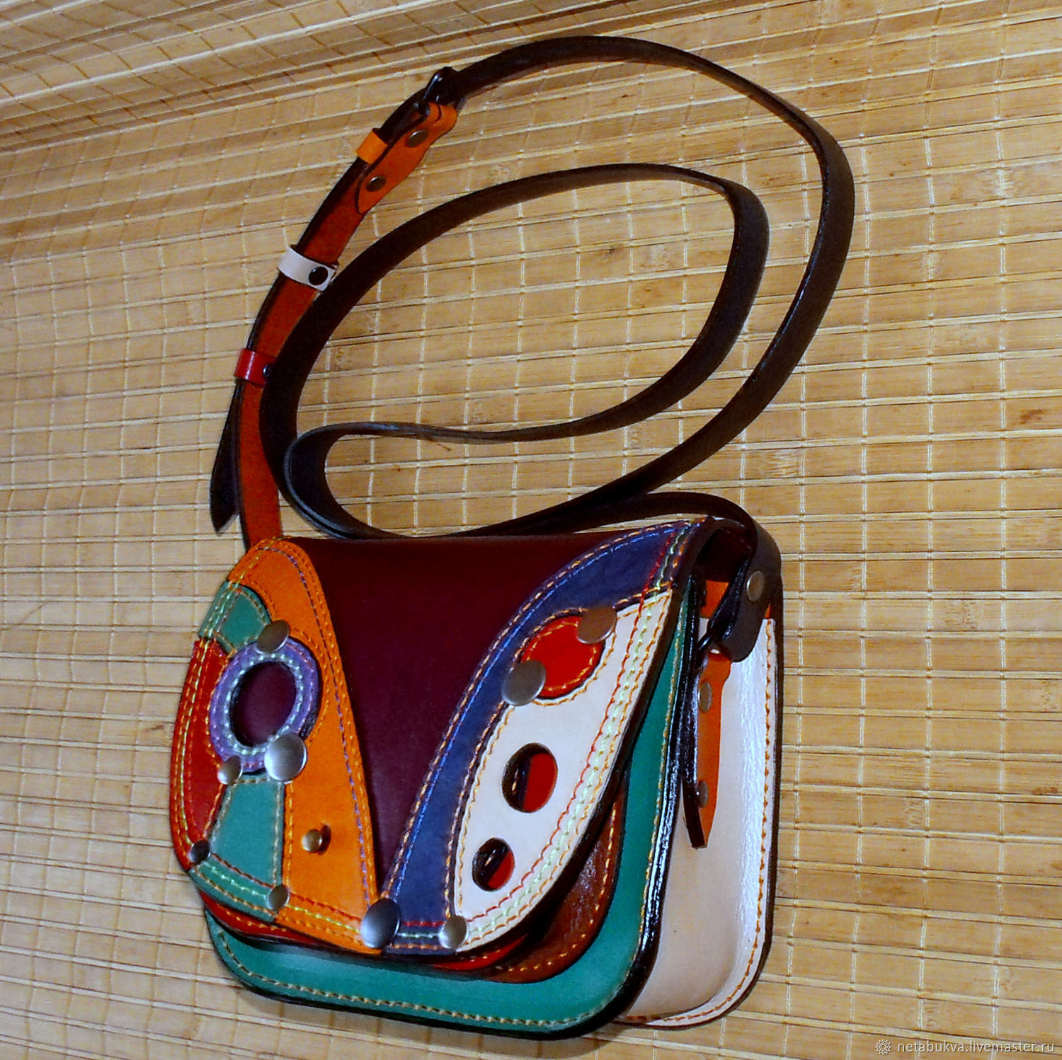 Leather bag ' MINICIRK ' )), Classic Bag, Moscow,  Фото №1
