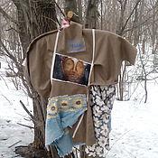 Одежда ручной работы. Ярмарка Мастеров - ручная работа льняная кофта ЗОЛОТОЙ БУДДА. Handmade.