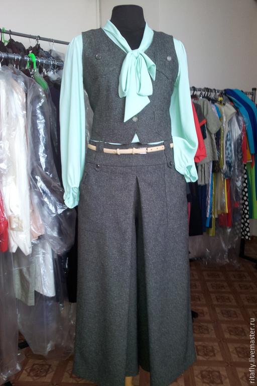 Одежда женская юбки брюки костюмы