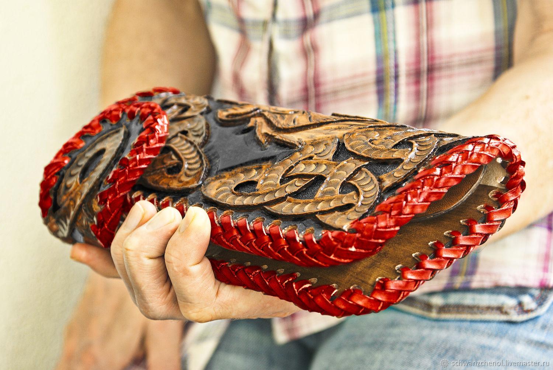 Leather wallet 'Celtic knots', Wallets, Krasnodar,  Фото №1