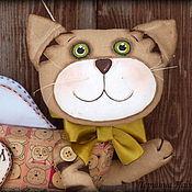 Куклы и игрушки ручной работы. Ярмарка Мастеров - ручная работа Кот - Ангел. Летающий кот. Ароматизированная Кофейная игрушка.. Handmade.