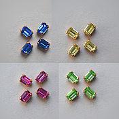 Материалы для творчества handmade. Livemaster - original item Vintage Swarovski crystals 6h4 mm 4 colors to choose from. Handmade.