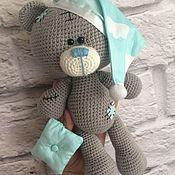 Куклы и игрушки ручной работы. Ярмарка Мастеров - ручная работа Мишка сплюшка. Handmade.