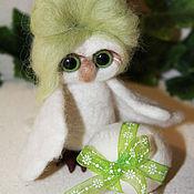 Куклы и игрушки handmade. Livemaster - original item Owl polar, very gentle. Handmade.