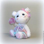 Куклы и игрушки ручной работы. Ярмарка Мастеров - ручная работа Чернично-малиновое суфле. Handmade.