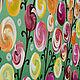 """Абстракция ручной работы. Заказать """"Времена года"""" Модульная картина. Арина (Картины для интерьера). Ярмарка Мастеров. Розовый, дерево"""