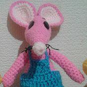 Мягкие игрушки ручной работы. Ярмарка Мастеров - ручная работа Мягкие игрушки: крысенок. Handmade.