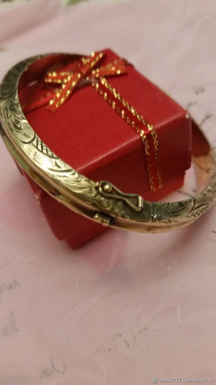 Vintage bracelet-silver and gold, Vintage bracelets, Moscow,  Фото №1