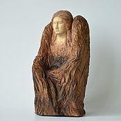 Для дома и интерьера handmade. Livemaster - original item Sculpture-Candle holder Keeper. Handmade.