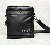 Сумки и аксессуары handmade. Livemaster - original item Bag laptop genuine leather and alligator skin. Handmade.