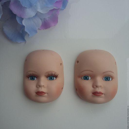 Куклы и игрушки ручной работы. Ярмарка Мастеров - ручная работа. Купить Лицо для тедди долл. Handmade. Бежевый, кукольное лицо