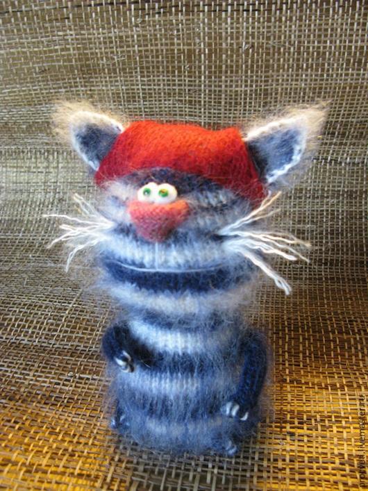 Игрушки животные, ручной работы. Ярмарка Мастеров - ручная работа. Купить Вязаная игрушка Кот Пират. Handmade. Коты