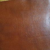 Материалы для творчества ручной работы. Ярмарка Мастеров - ручная работа листы экокожи № 2нерезанная в рулоне коричневый. Handmade.