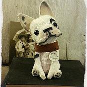 Куклы и игрушки ручной работы. Ярмарка Мастеров - ручная работа ONLY KINGS French bulldog 216. Handmade.