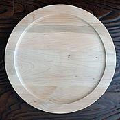 Материалы для творчества ручной работы. Ярмарка Мастеров - ручная работа Тарелка диаметр 35 см с бортиком 2 см. Handmade.