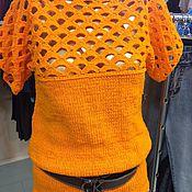 Одежда ручной работы. Ярмарка Мастеров - ручная работа Пуловер. Handmade.