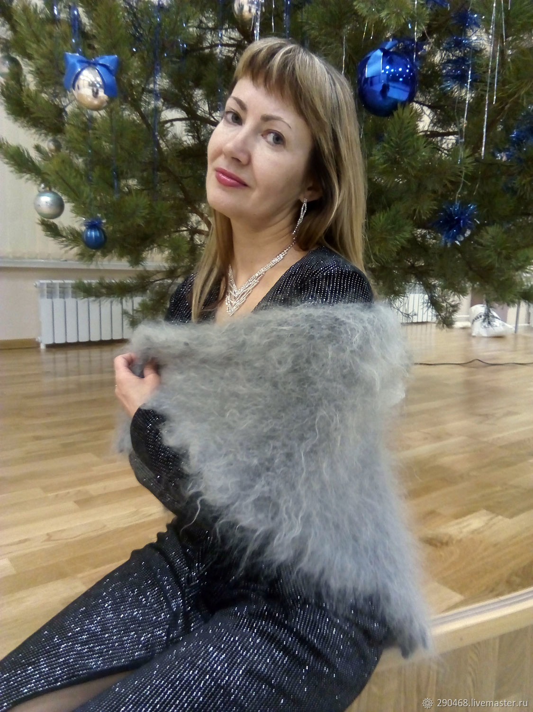 Shawls & Warm Stoles handmade. Livemaster - handmade. Buy Feather openwork scarf Anastasia.Fetish, warm shawl