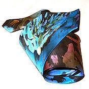 Аксессуары handmade. Livemaster - original item Silk designer necktie Everest.. Handmade.