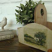 """Для дома и интерьера ручной работы. Ярмарка Мастеров - ручная работа короб для кухни """" травы прованса"""". Handmade."""