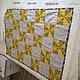 Пледы и одеяла ручной работы. Ярмарка Мастеров - ручная работа. Купить Детское лоскутное одеялко. Handmade. Разноцветный, лоскутное одеяло