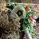 """Свадебные цветы ручной работы. Ярмарка Мастеров - ручная работа. Купить Букет невесты """"Райская птица"""" РУСТИК ручной букет дублер. Handmade."""