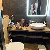 Столы ручной работы. Ярмарка Мастеров - ручная работа Столы: Столешница для ванны Слэб Дуба. Handmade.