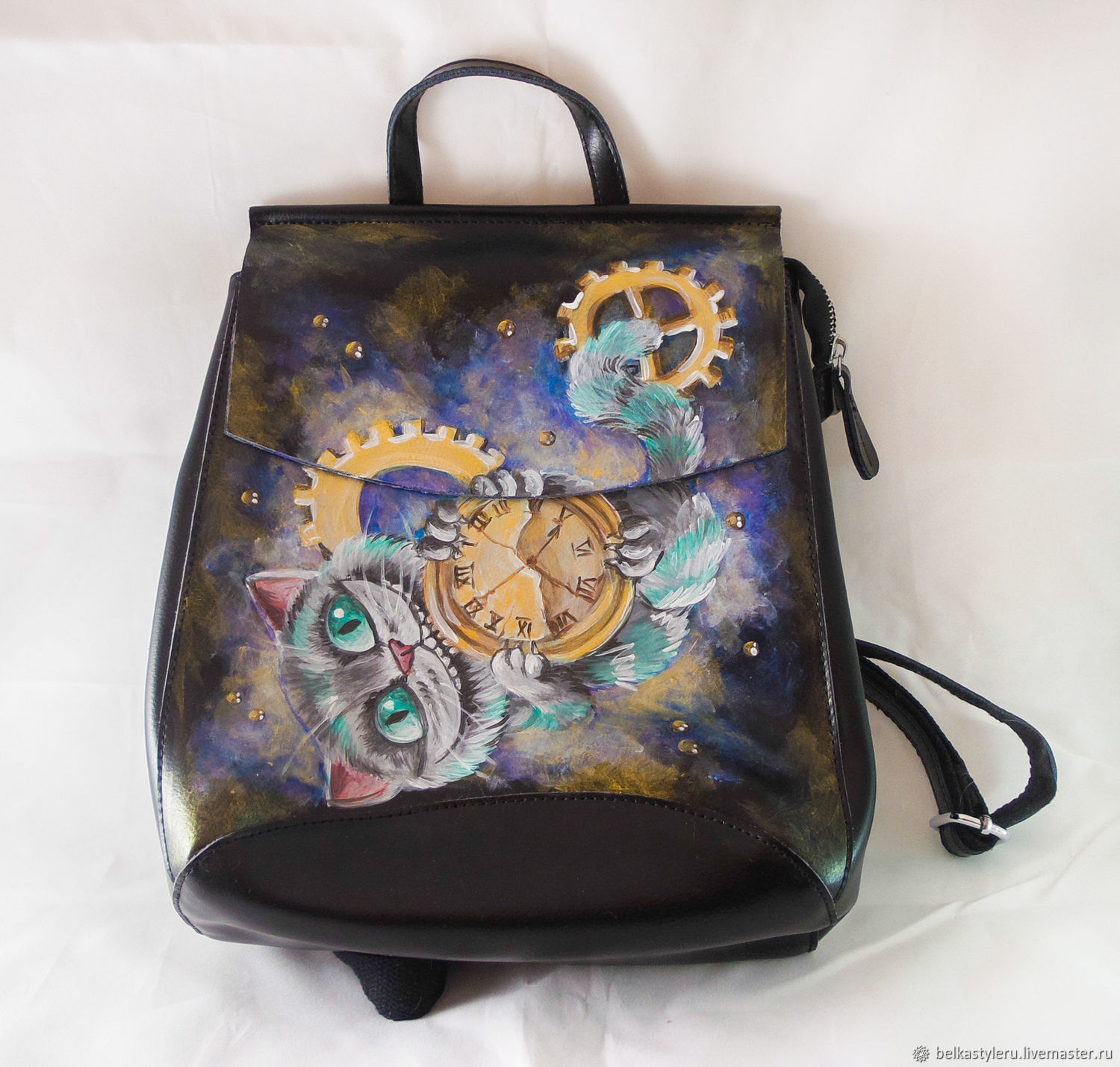 386a7dba96 Backpacks handmade livemaster handmade buy leather backpack handmade  cheshire cat backpack jpg 1500x1429 Cheshire cat backpack