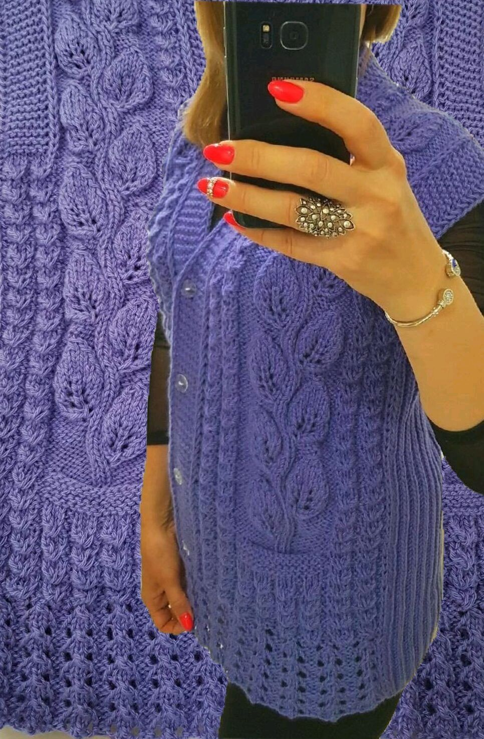 Knitted women's vest Women's vests Cardigans tank Tops knitted, Cardigans, Volgograd,  Фото №1