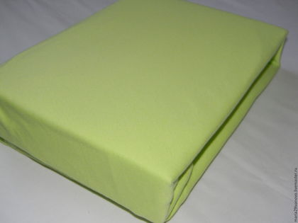 Текстиль, ковры ручной работы. Ярмарка Мастеров - ручная работа. Купить Простынь на резинке трикотажная 100 % хлопок. Handmade.