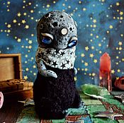 Куклы и игрушки ручной работы. Ярмарка Мастеров - ручная работа Лунный ребенок. Черный. Handmade.