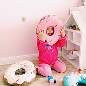 Для дома и интерьера handmade. Livemaster - original item Cushion-donut. Handmade.