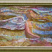 """Картины и панно ручной работы. Ярмарка Мастеров - ручная работа """"Ветерок"""". Handmade."""
