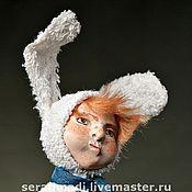 Куклы и игрушки ручной работы. Ярмарка Мастеров - ручная работа Мальчик-зачик Авторская куклы из паперклея в ед.экземпляре. Handmade.