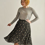 Одежда handmade. Livemaster - original item Skirt in retro style. Handmade.