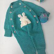 Одежда детская handmade. Livemaster - original item jumpsuit. Handmade.